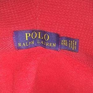 Blue logo/Red Polo ralph lauren jacket